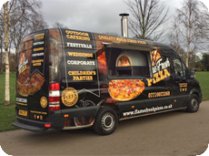 Saturday Night' Flame Fresh Pizza Night at York Naburn Lock Caravan Park