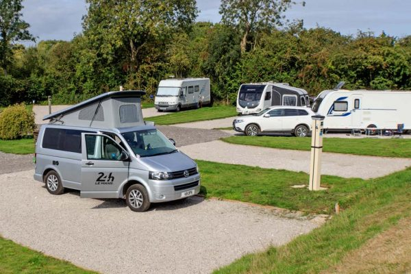 Grown-ups find peace, quiet and relaxation on York Naburn Lock Caravan Park's Adult Only Touring field.