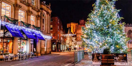 York Christmas Illuminations and Christmas Markets