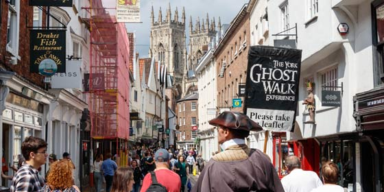 Explore York's history with a Ghost Walk Experience