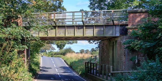 Join the Sustrans Route 65 York Cycle Path at Old Naburn Station